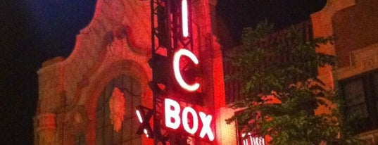 Music Box Theatre is one of The Crowe Footsteps.