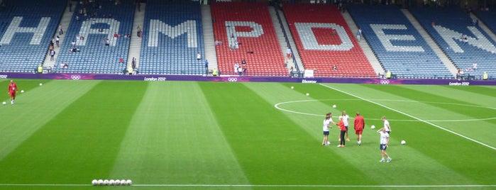 Hampden Park is one of 'Stadium Talk'....