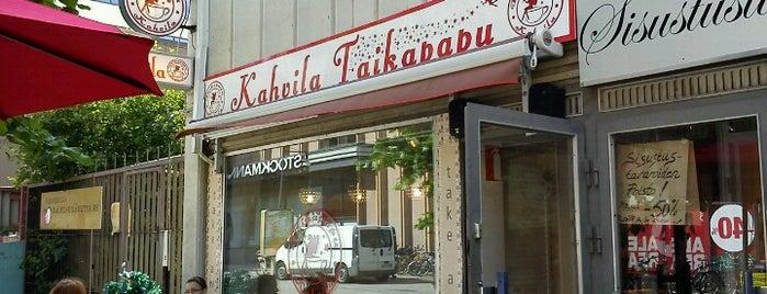 Tampereen Paahtimo & Kahvila Taikapapu is one of Salla'nın Kaydettiği Mekanlar.
