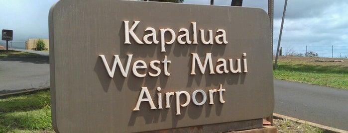 Kapalua Airport (JHM) is one of Lidija'nın Beğendiği Mekanlar.