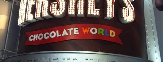 Hershey's Chocolate World is one of NY.