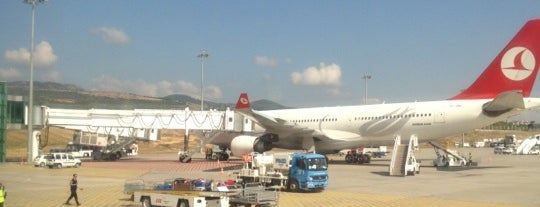 İzmir Adnan Menderes Havalimanı (ADB) is one of AIRPORT.