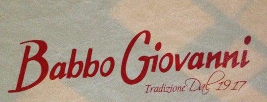 Babbo Giovanni is one of Gespeicherte Orte von Fabio.