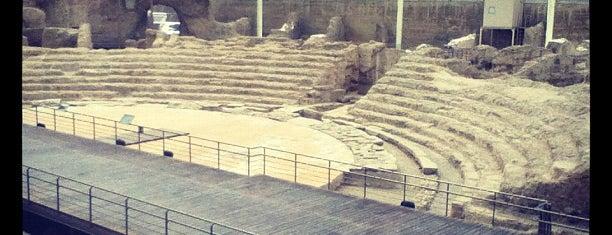 Teatro Romano is one of zargoza.