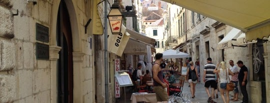 Proto is one of Dubrovnik - juli 2017.