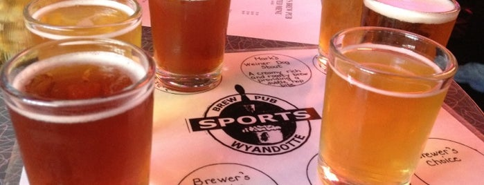 Sports Brew Pub is one of Michigan Breweries.