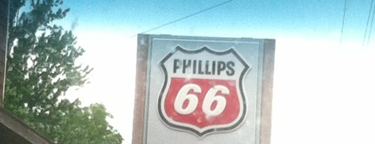 Phillips 66 is one of Favorite spots.