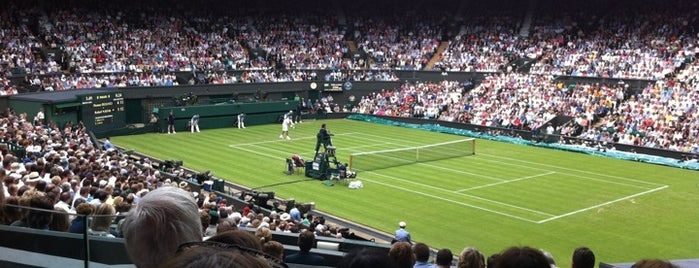 Centre Court is one of Spring Famous London Story.
