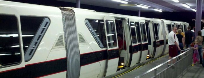 Monorail Black is one of Transportation & Misc Disney World Venues.