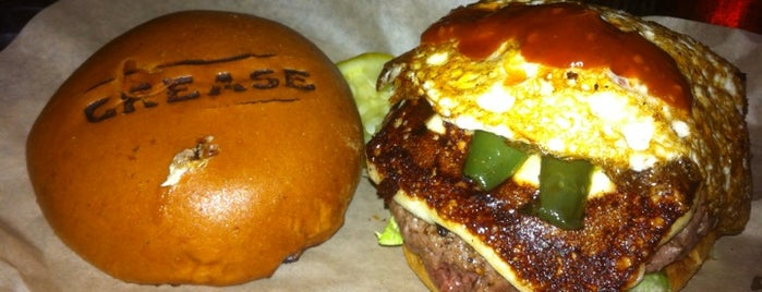 Grease Burger, Beer and Whiskey Bar is one of Rock Star.