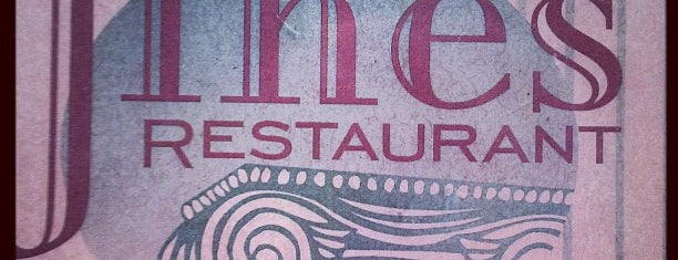 Jines Restaurant is one of Take zucchini.