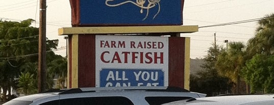 Catfish Dewey's is one of She Sells Sea Food By the Sea Shore.