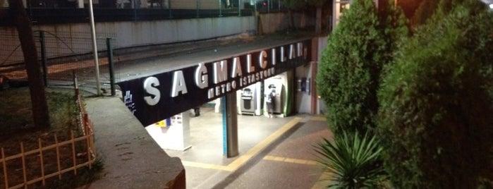 Sağmalcılar Metro İstasyonu is one of Lugares guardados de i.