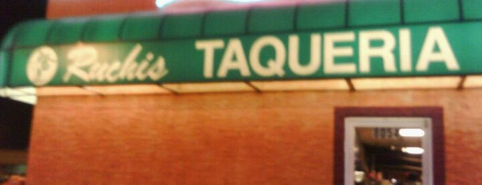Ruchi's Taqueria is one of Tellie's Liked Places.