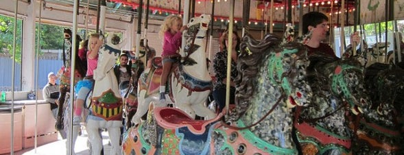 Flushing Meadows Carousel is one of The Great Outdoors NY.