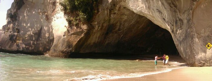 Cathedral Cove (Te Whanganui-A-Hei) is one of Новая Зеландия.