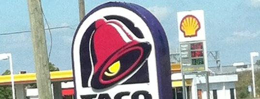 Taco Bell is one of Steven'in Beğendiği Mekanlar.