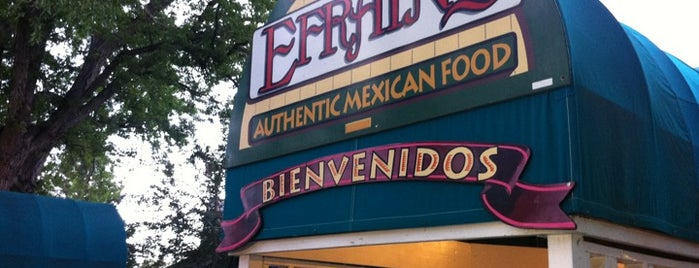 Efrain's Mexican Restaurant & Cantina is one of Lugares favoritos de Thomas.