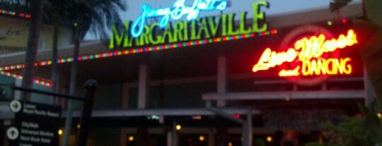 Jimmy Buffet's Margaritaville is one of Famous Musicians Restaurants.