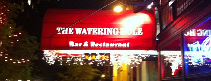 The Watering Hole is one of Manhattan Bars-To-Do List.