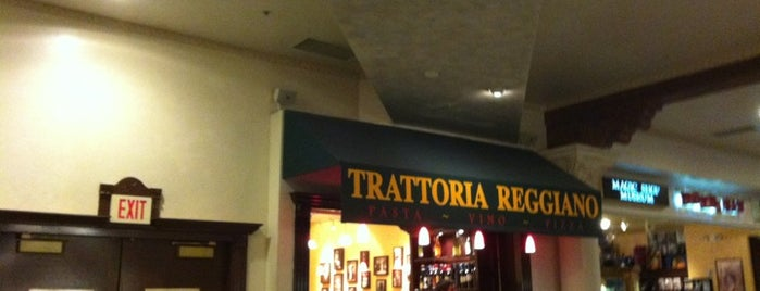 Trattoria Reggiano is one of Vegas Places with Check-In Deals.