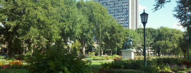 Jardin Jeanne d'Arc is one of Quebec City.