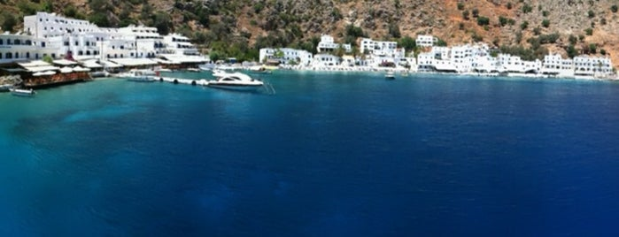 Loutro Beach is one of Crete.