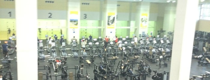Campus Recreation Center (CRC) is one of #FitBy4sqDay Tips.