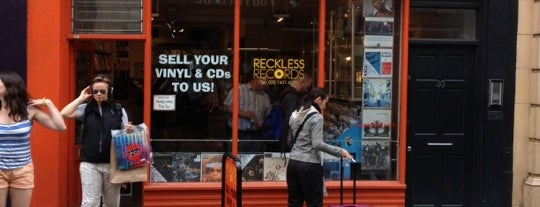 Reckless Records is one of Kim's London Favs & Wishlist.