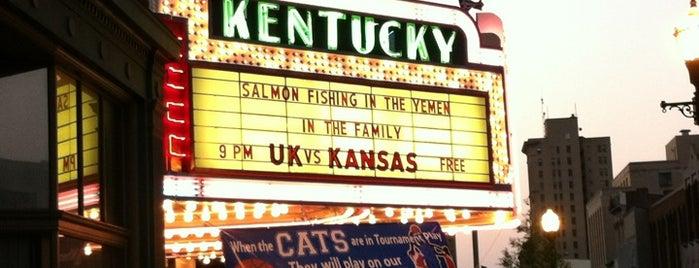 Kentucky Theatre is one of Lugares favoritos de Hannah.