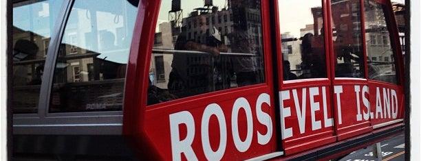 Roosevelt Island Tram (Manhattan Station) is one of NYC.