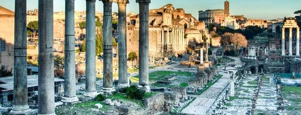 Foro Romano is one of #Rom.