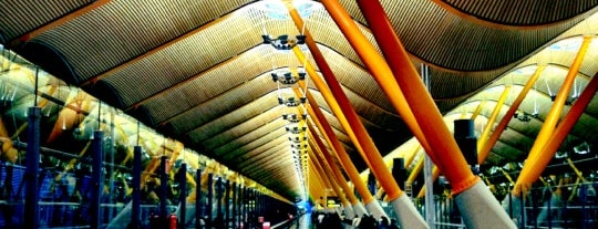 "Flughafen Madrid-Barajas ""Adolfo Suárez"" (MAD) is one of World Airports."