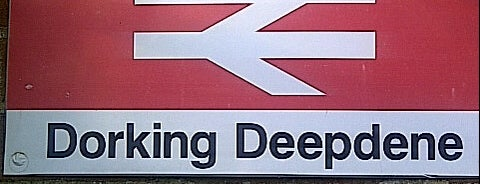 Dorking Deepdene Railway Station (DPD) is one of Traveling about with work.