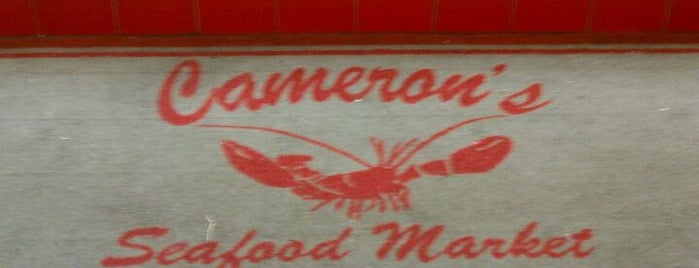 Cameron's Seafood Market is one of Roniseさんのお気に入りスポット.
