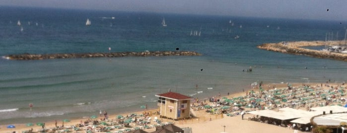 Frishman Beach is one of Tel Aviv Places.