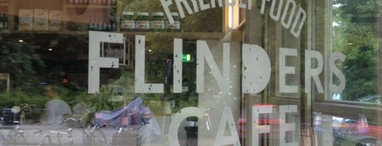 Flinders Café is one of Free WiFi Amsterdam.