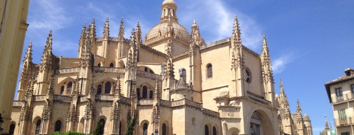 Catedral de Segovia is one of Spanien.