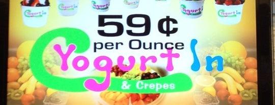 Yogurt In & Crepes is one of Lugares favoritos de Alberto J S.