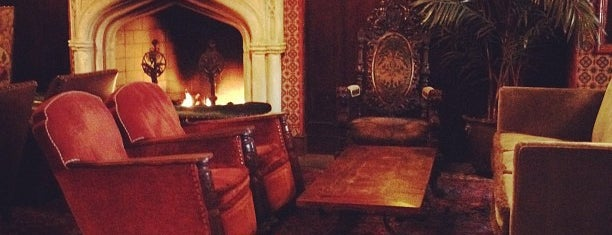 Bowery Hotel Lobby Bar is one of Bars with Fireplaces.