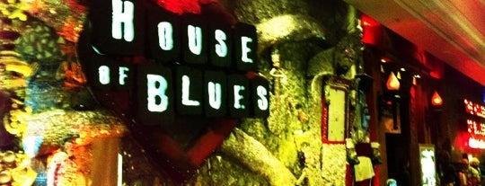 House of Blues is one of Locais salvos de Andrea.