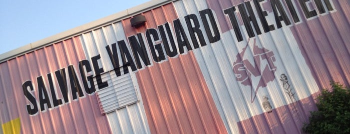 Salvage Vanguard Theater is one of Keep Austin Awesome.