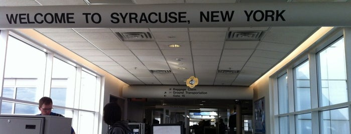 Syracuse Hancock International Airport (SYR) is one of DC Millionaire Society.