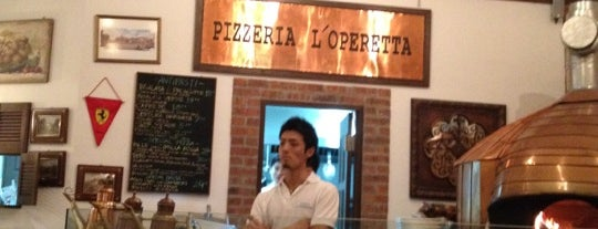 Pizzeria L'Operetta is one of Orte, die Ian gefallen.