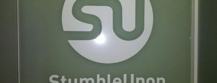 StumbleUpon is one of Silicon Valley Companies.