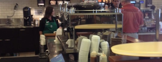 Starbucks is one of Where to eat and drink downtown.