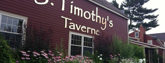 J. Timothy's Taverne is one of Boston.