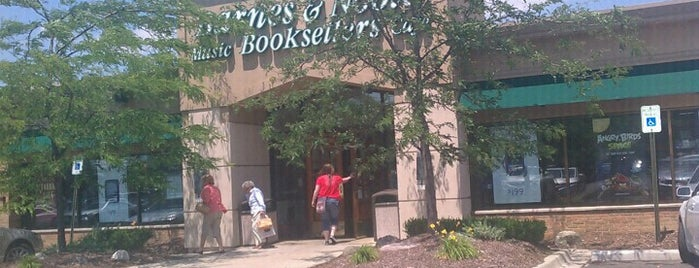 Barnes & Noble is one of Detroit.