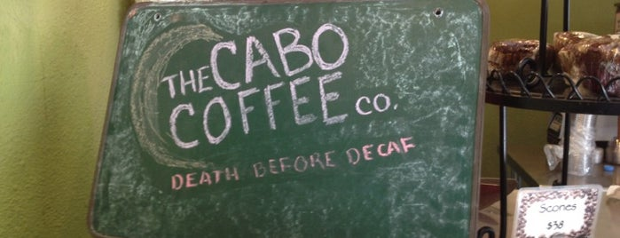 The Cabo Coffee Co. is one of My favorite places.