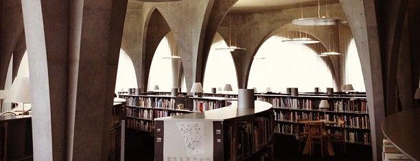 多摩美術大学 八王子図書館 is one of Books everywhere I..